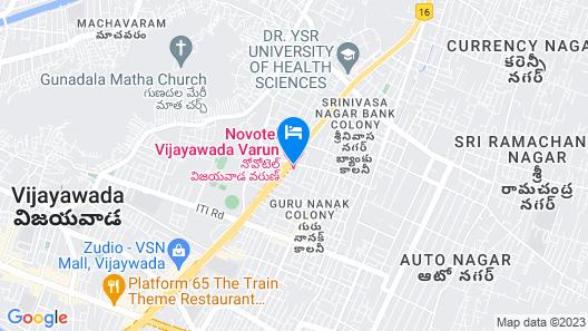 Novotel Vijayawada Varun Hotel Map