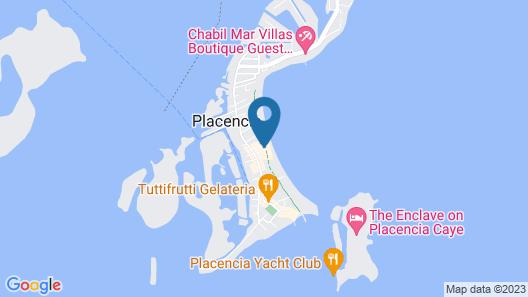 Caribbean Beach Cabanas - A PUR Hotel Map