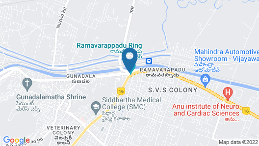 OYO 1566 Hotel Kranthi's Innotel Map