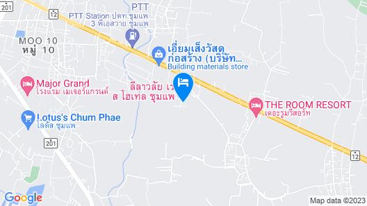 Leelawalai Rest Hotel Map