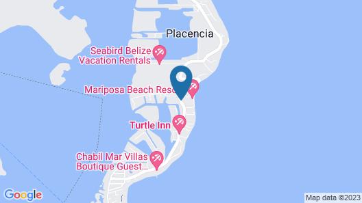Mariposa Beach Resort Map