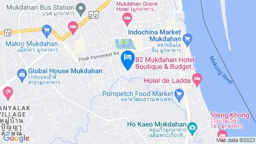 Kiengpiman Hotel Map
