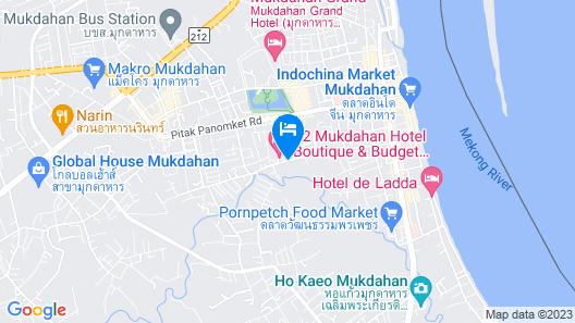 Bann Udomsap Map