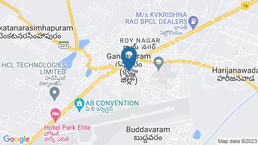OYO 37222 Kiran'S Pride Service Apartment Map