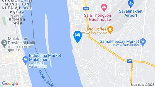 Daosavanh Resort & Spa Map