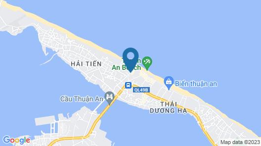 Lapochine Beach Resort Map