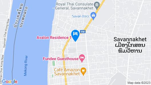 Avalon Residence Map
