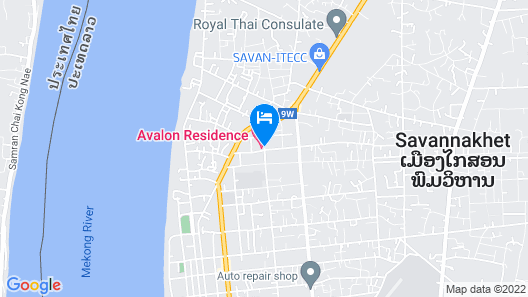 Avalon residence2 Map