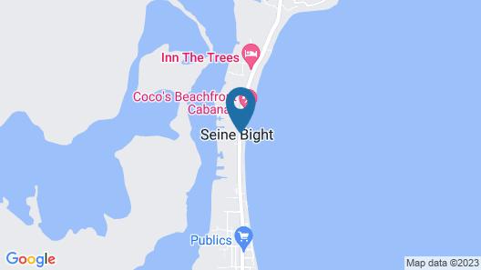 Casa de la Paz Map