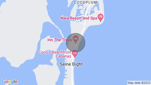 Treehouse cabana in a quiet area w/ veranda, WiFi & partial AC - walk to beach! Map