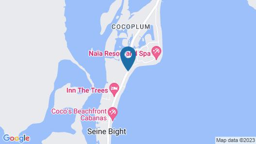 Villa Mission Bay Map