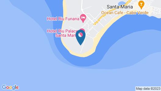 Hotel Riu Palace Santa Maria Map