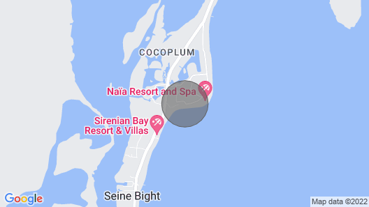 Feel At Home In The Tropics With This Beachfront Paradise Map