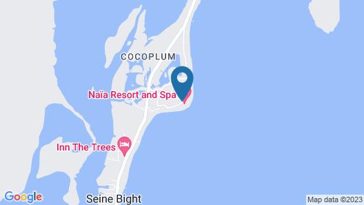Naïa Resort and Spa Map