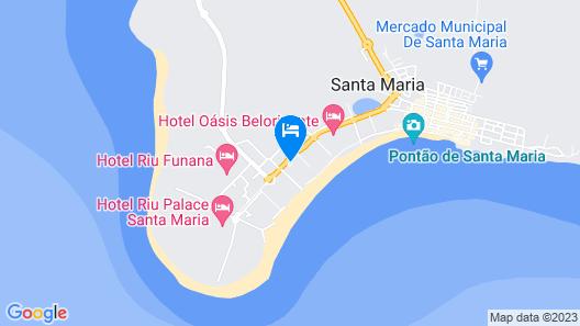 Hilton Cabo Verde Sal Resort Map
