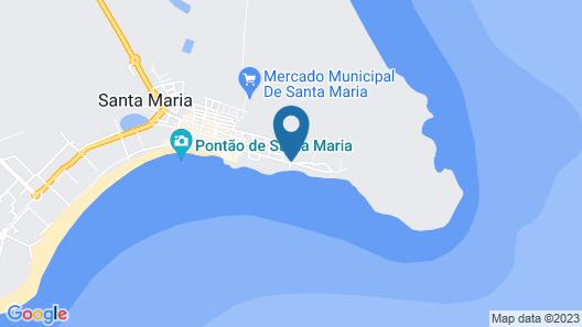 Apartment La Vedetta First line ocean Map