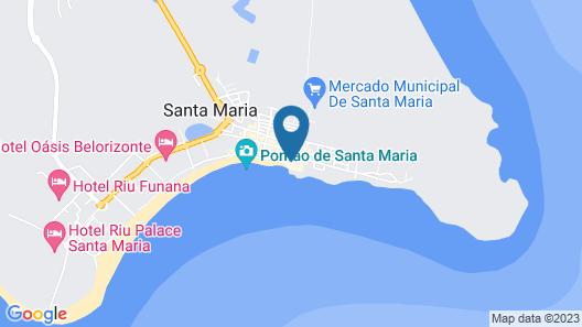 Odjo d'Agua Map