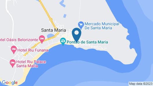 Porto Antigo Hotel Residence Map