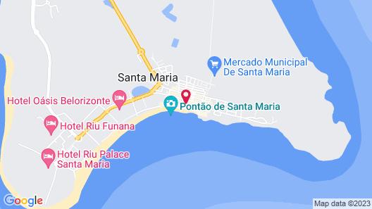 Xamedu Sal Hostel Map