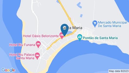 Hotel Oasis Belorizonte Map