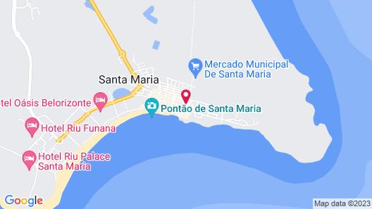 Casa Blu Map