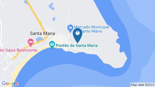Hotel Da Luz Map