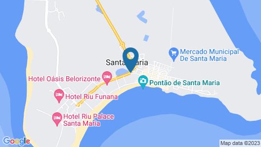 Casa Bahia Map