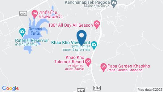 The Proud Green Garden Hill Resort Map