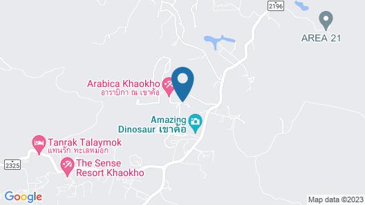 Bhuthara Khaokho Resort Map