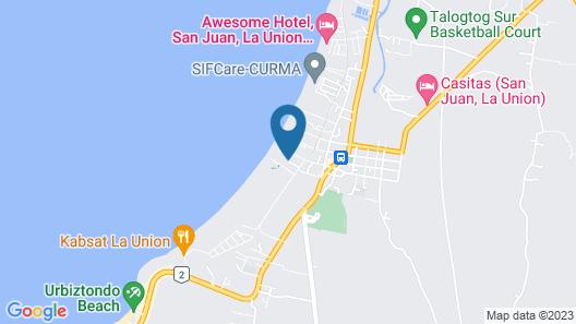 Puerto de San Juan Beach Resort Hotel Map