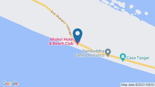 Mishol Bodas Hotel & Beach Club Privado Map