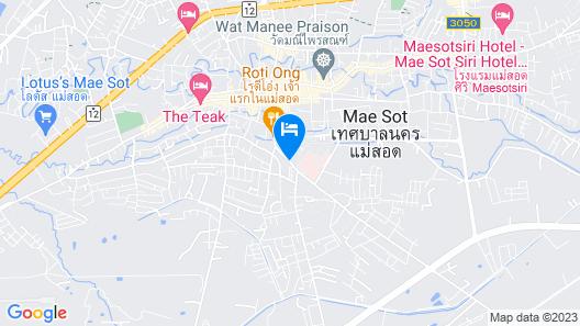 Phetcharat Grand Hotel Maesot Map
