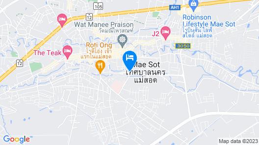 ThanaVill Resort Map