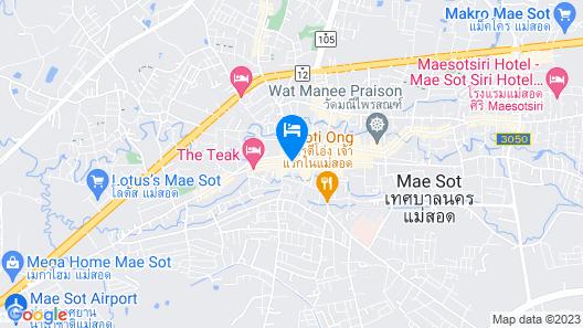 The Teak Hotel Map