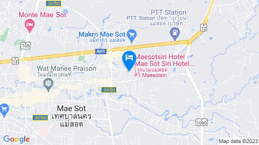 Maesot Siri Hotel Map