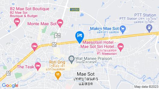 Tempo Plus Apartment Mae Sot Map