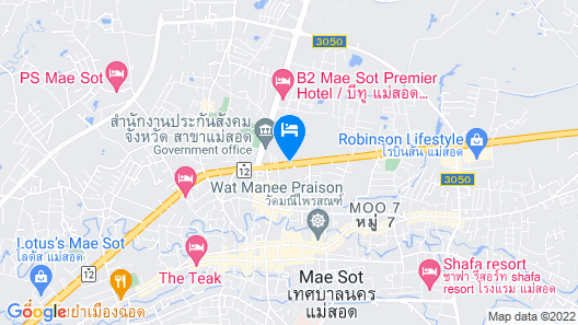 Baan Maitree Boutique House Map