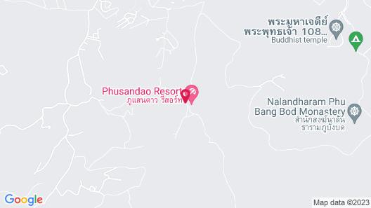 Phu Sandao Resort Map