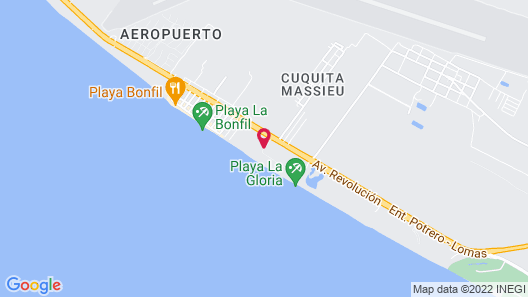 Canadian Resorts Acapulco Map