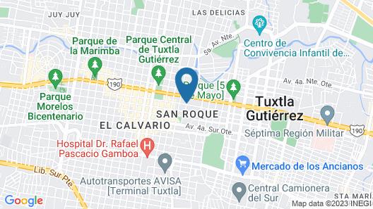 Hotel Del Oriente Map