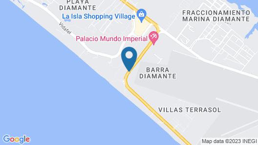 Club Piedras De Sol Acapulco Diamante Map