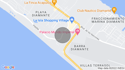 Hotel Mayan Palace Acapulco, 001 Map