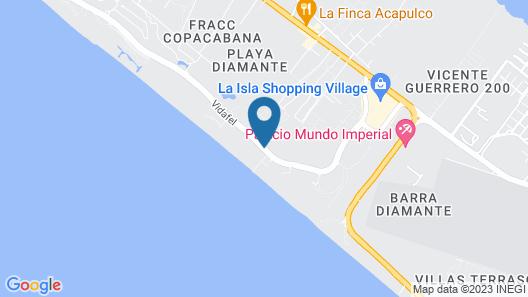Ocean Breeze Acapulco Map