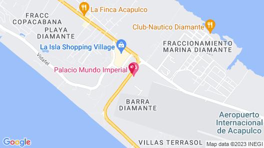 Hotel Palacio Mundo Imperial Map