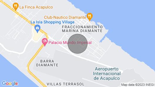 PH Marina Diamante con Roofgarden Privado Map