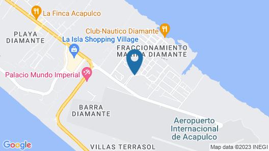 Refugio Diamante Map