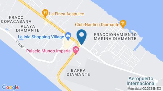 One Acapulco Diamante Map