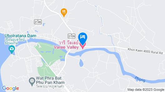 Varee Valley Resort and Restaurant Map