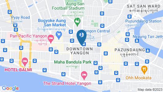 Panorama Hotel Map