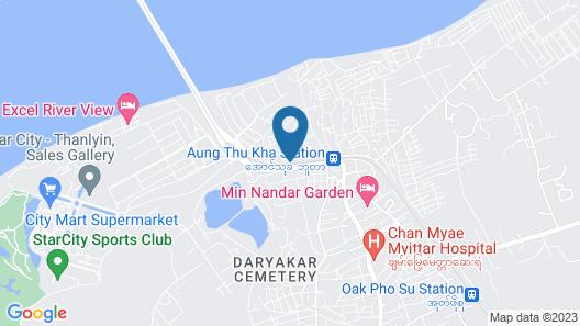 Mya Myint Mo Hotel Thanlyin Map